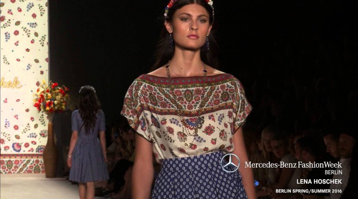 Mercedes-benz Fashion Week Berlin Ss 2016 – Lena Hoschek